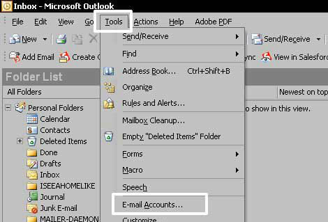 Email Outlook 2