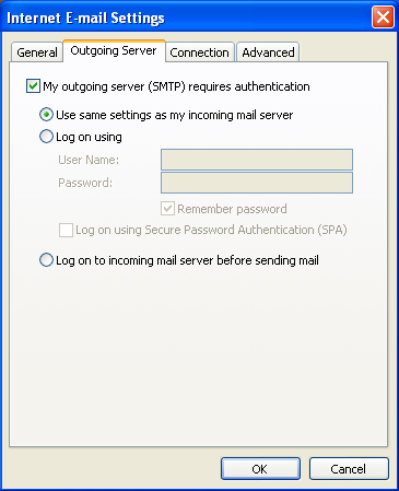 Email Outlook 6