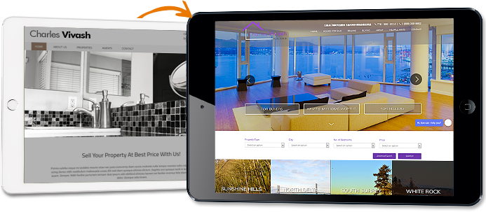 Best real estate websites for agents and brokers realtor web design notice the value and transformation that agent image can offer in comparison to other mass produced template website companies publicscrutiny Choice Image